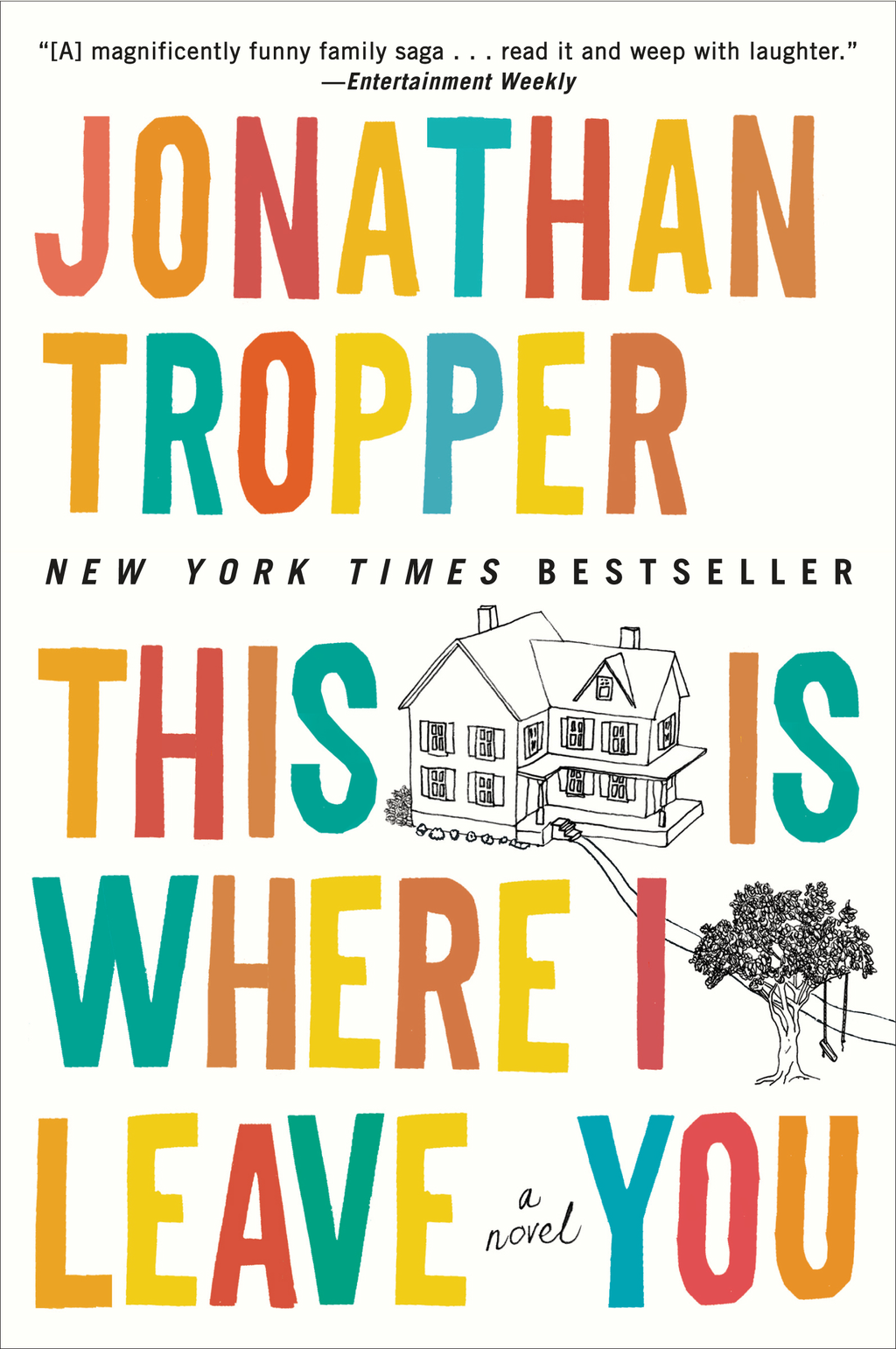 This Is Where I Leave You: A Novel By: Jonathan Tropper
