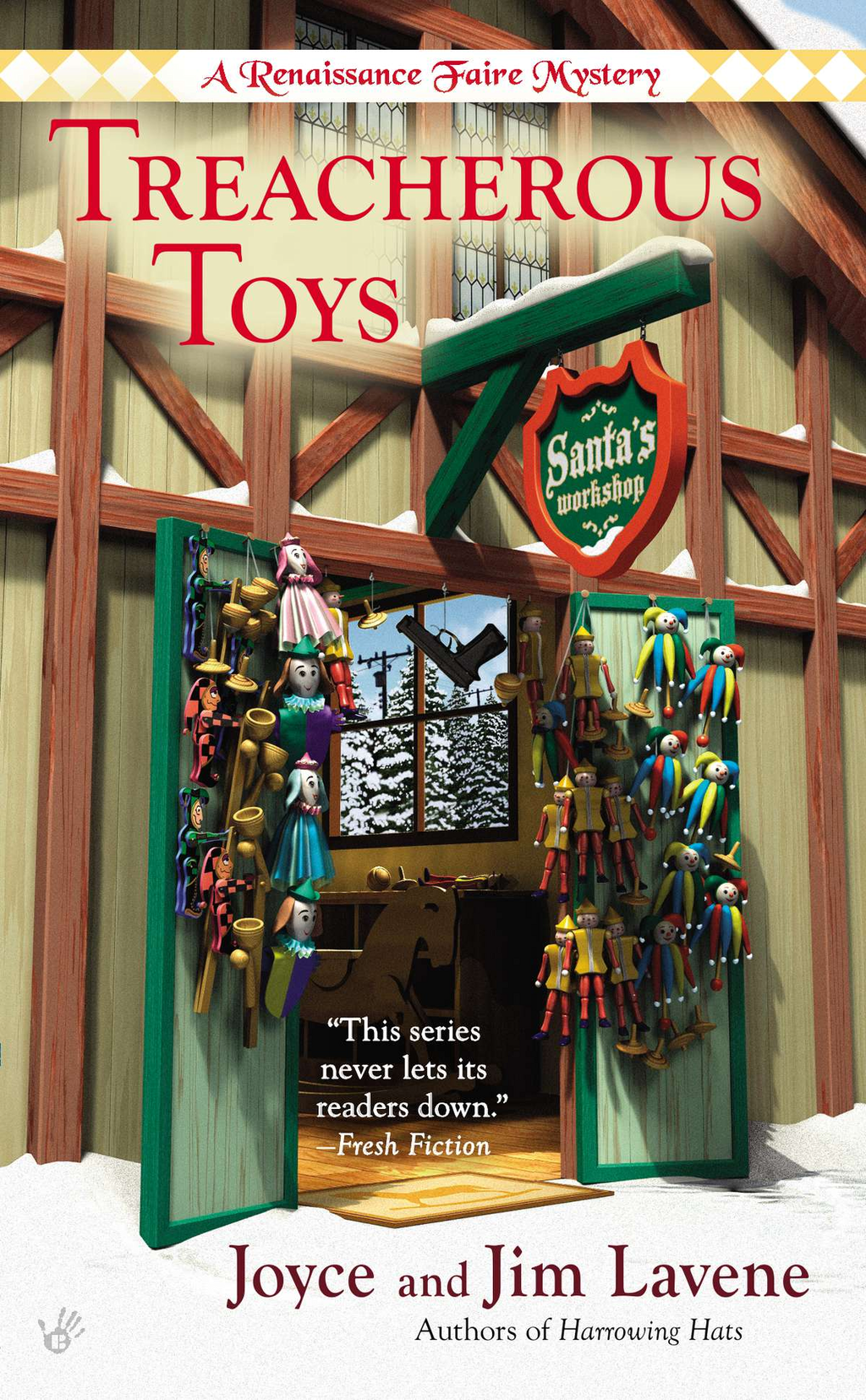 Treacherous Toys By: Joyce and Jim Lavene