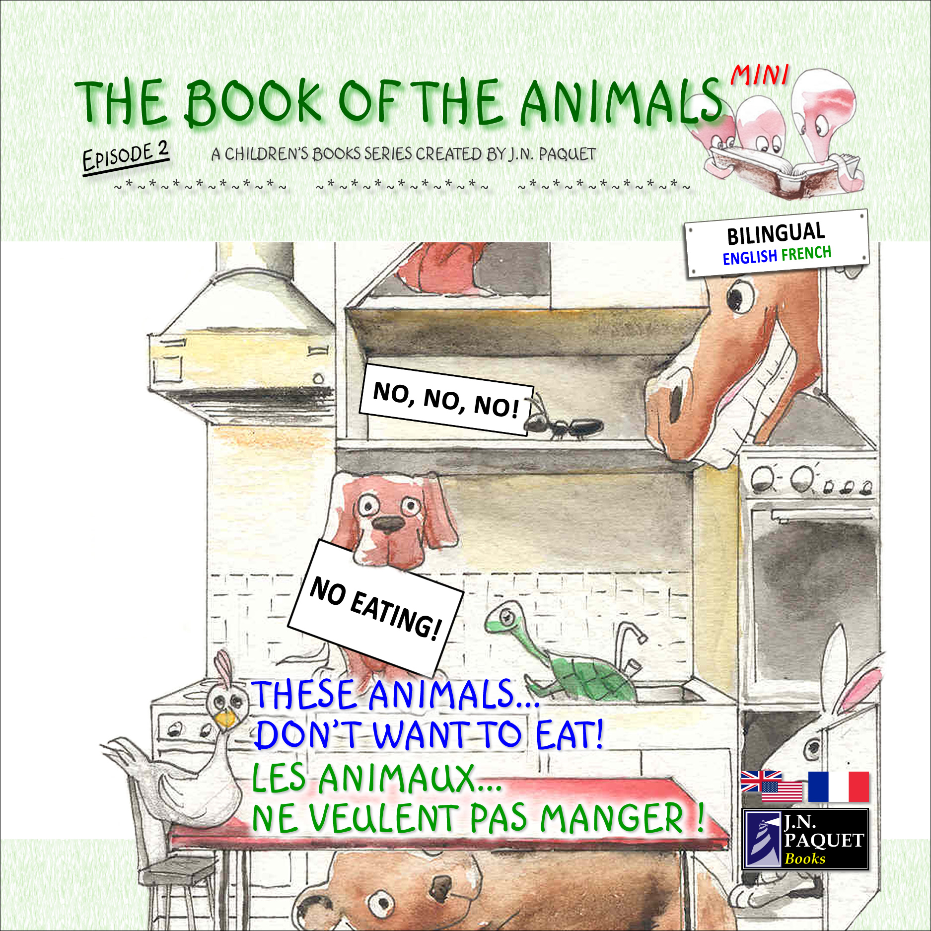 The Book of The Animals - Mini - Episode 2 (Bilingual English-French)