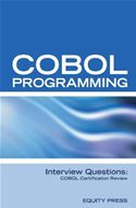 download COBOL Programming Interview Questions: COBOL Job Interview Preparation book
