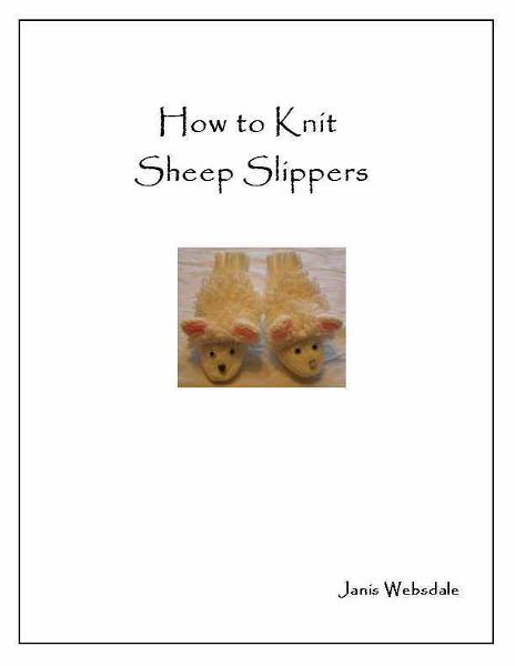 How to Knit Sheep Slippers