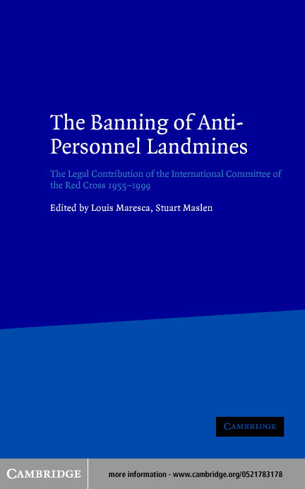 The Banning of Anti-Personnel Landmines