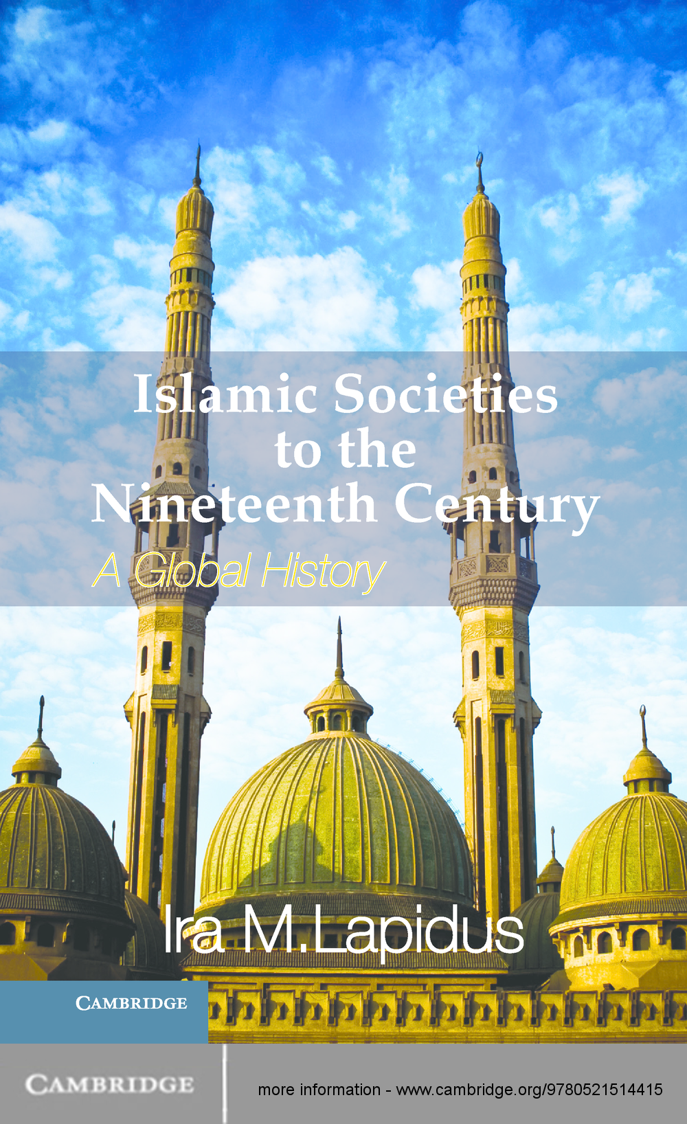 Islamic Societies to the Nineteenth Century A Global History
