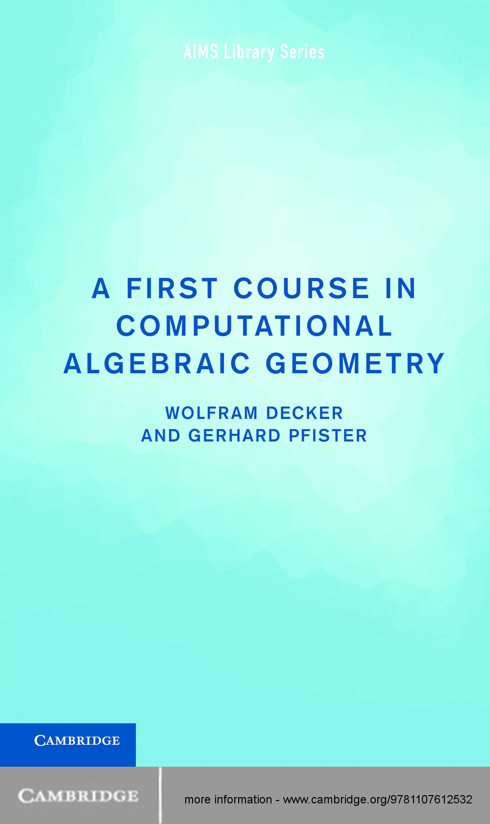 A First Course in Computational Algebraic Geometry