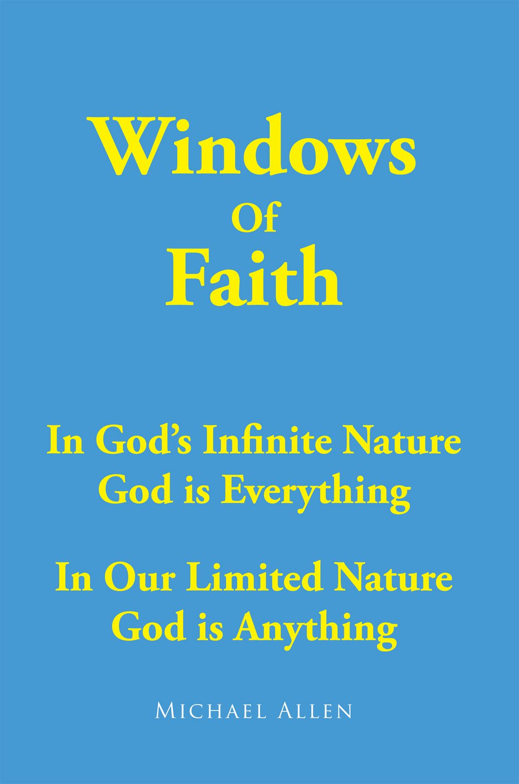 Windows Of Faith