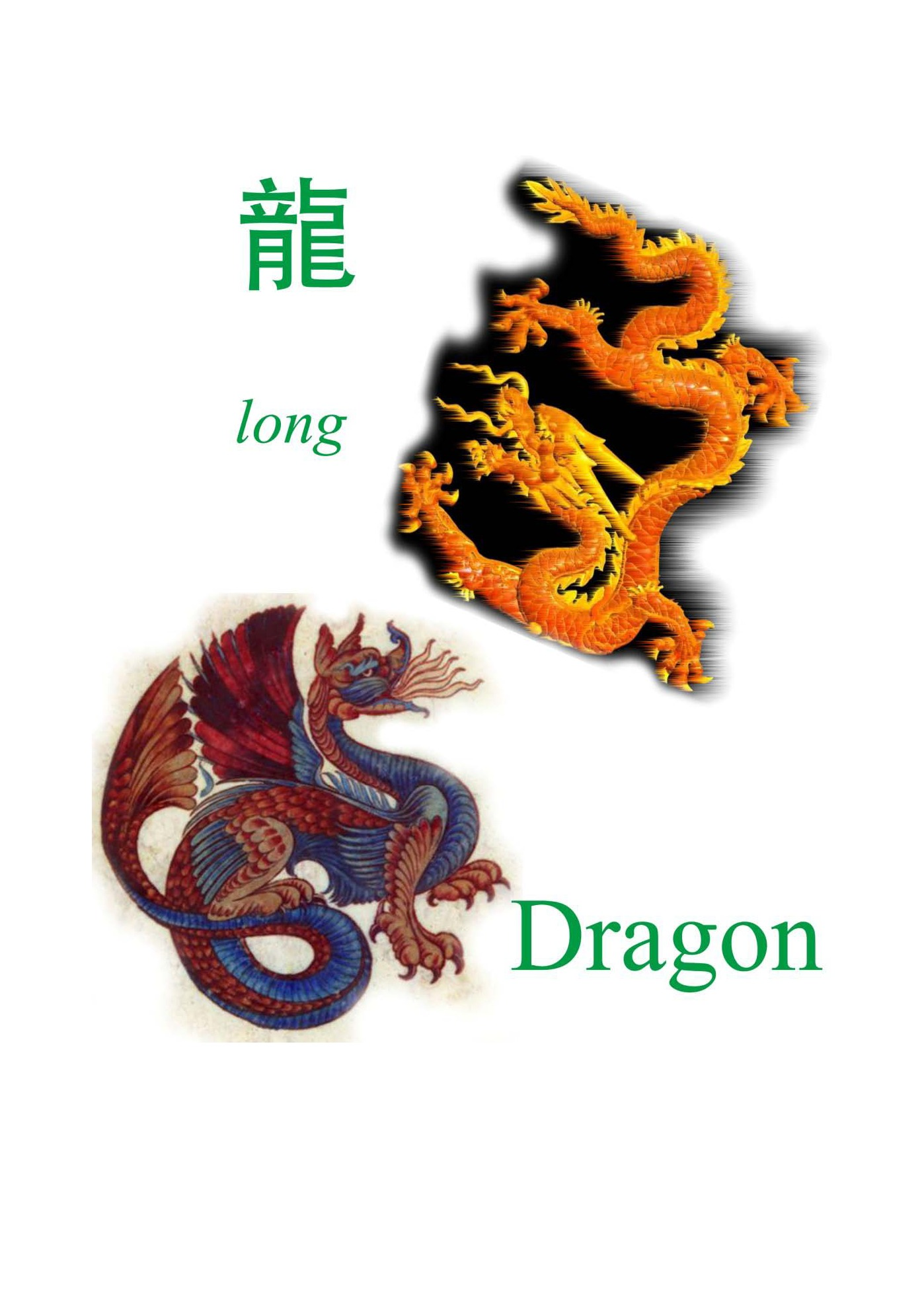 What is the DRAGON in China?