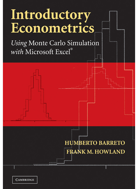Introductory Econometrics Using Monte Carlo Simulation with Microsoft Excel