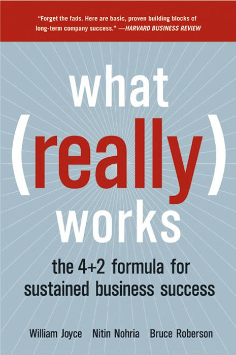 What Really Works By: Bruce Roberson,Nitin Nohria,William Joyce