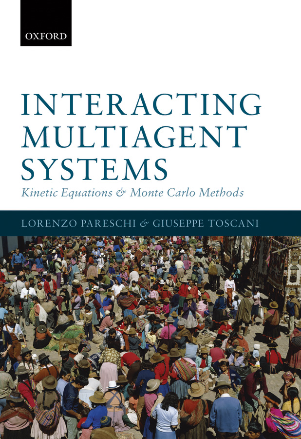 Interacting Multiagent Systems: Kinetic equations and Monte Carlo methods