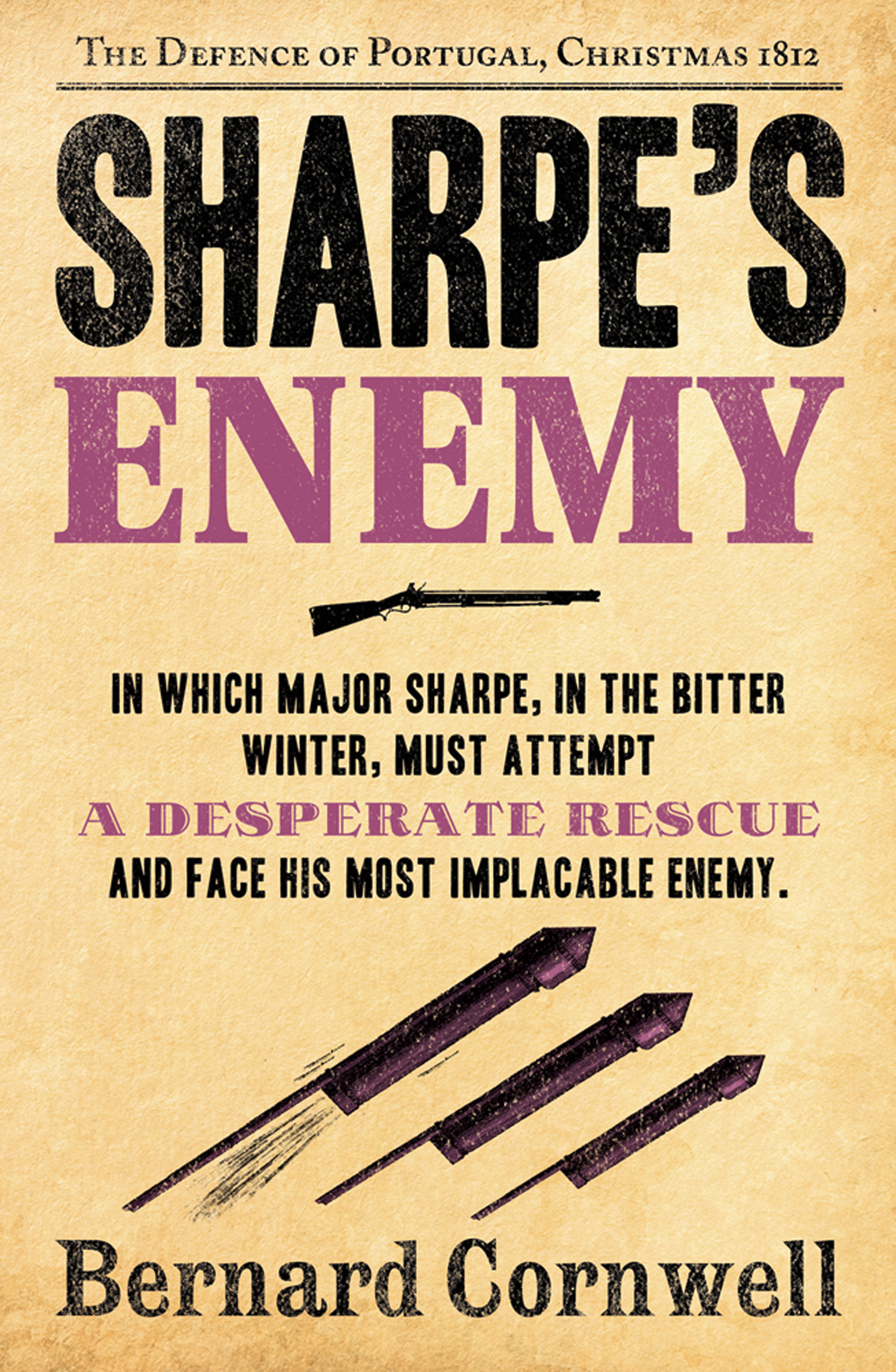 Sharpe?s Enemy: The Defence of Portugal,  Christmas 1812 (The Sharpe Series,  Book 15)