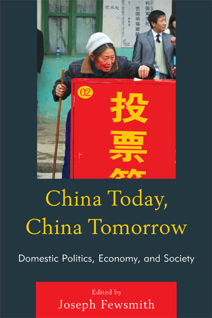 China Today, China Tomorrow By: