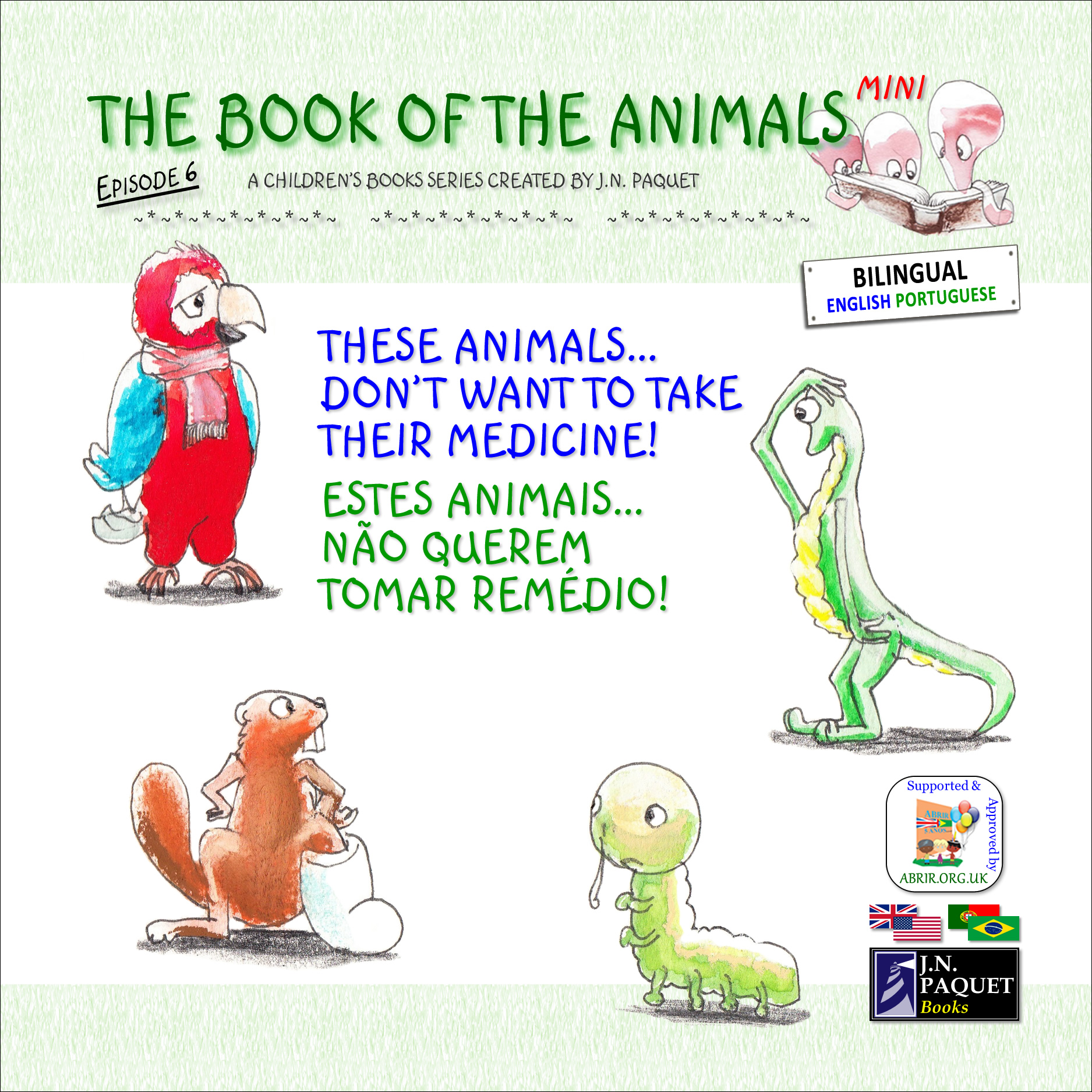 The Book of The Animals - Mini - Episode 6 (Bilingual English-Portuguese)