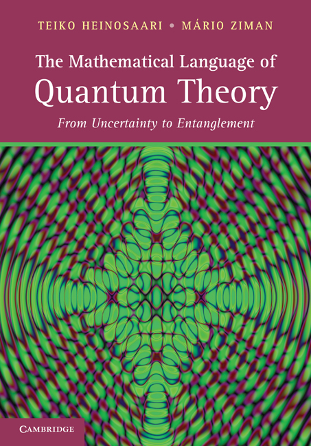 The Mathematical Language of Quantum Theory By: Heinosaari, Teiko