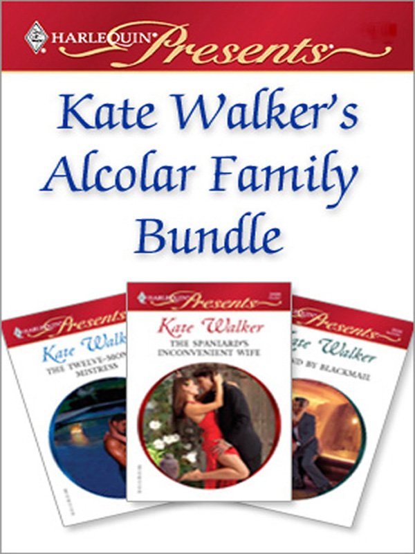 Kate Walker's Alcolar Family Bundle