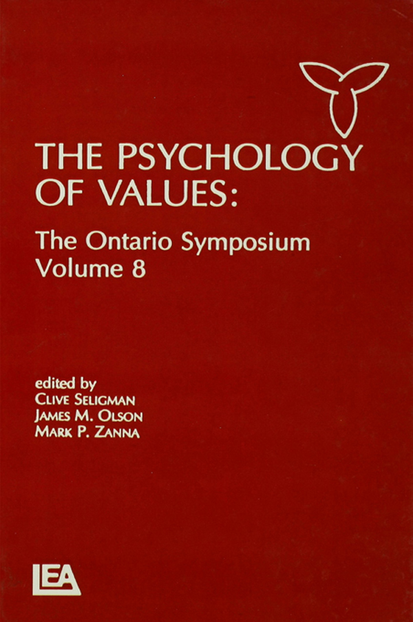 The Psychology of Values
