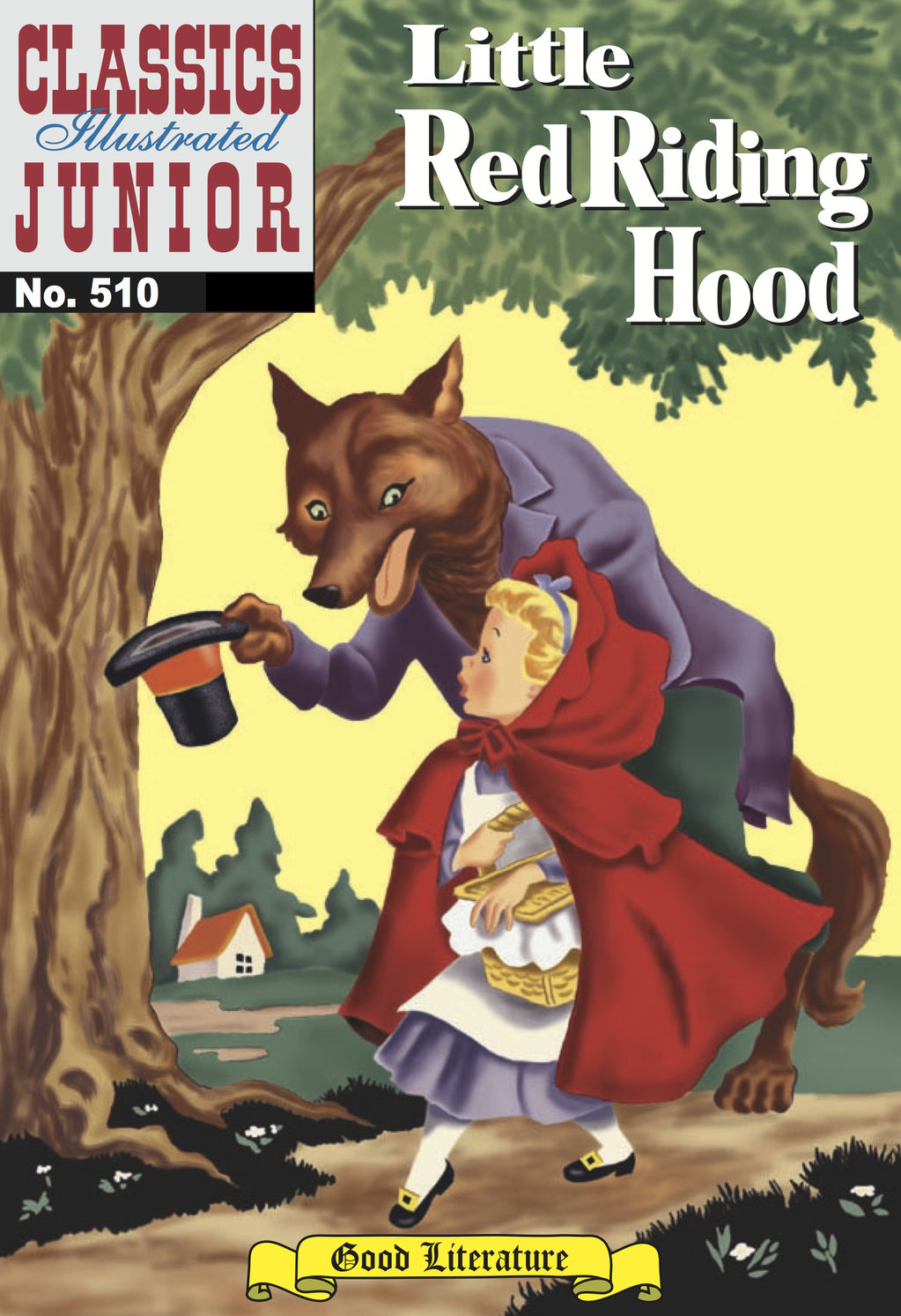 Little Red Riding Hood - Classics Illustrated Junior #510