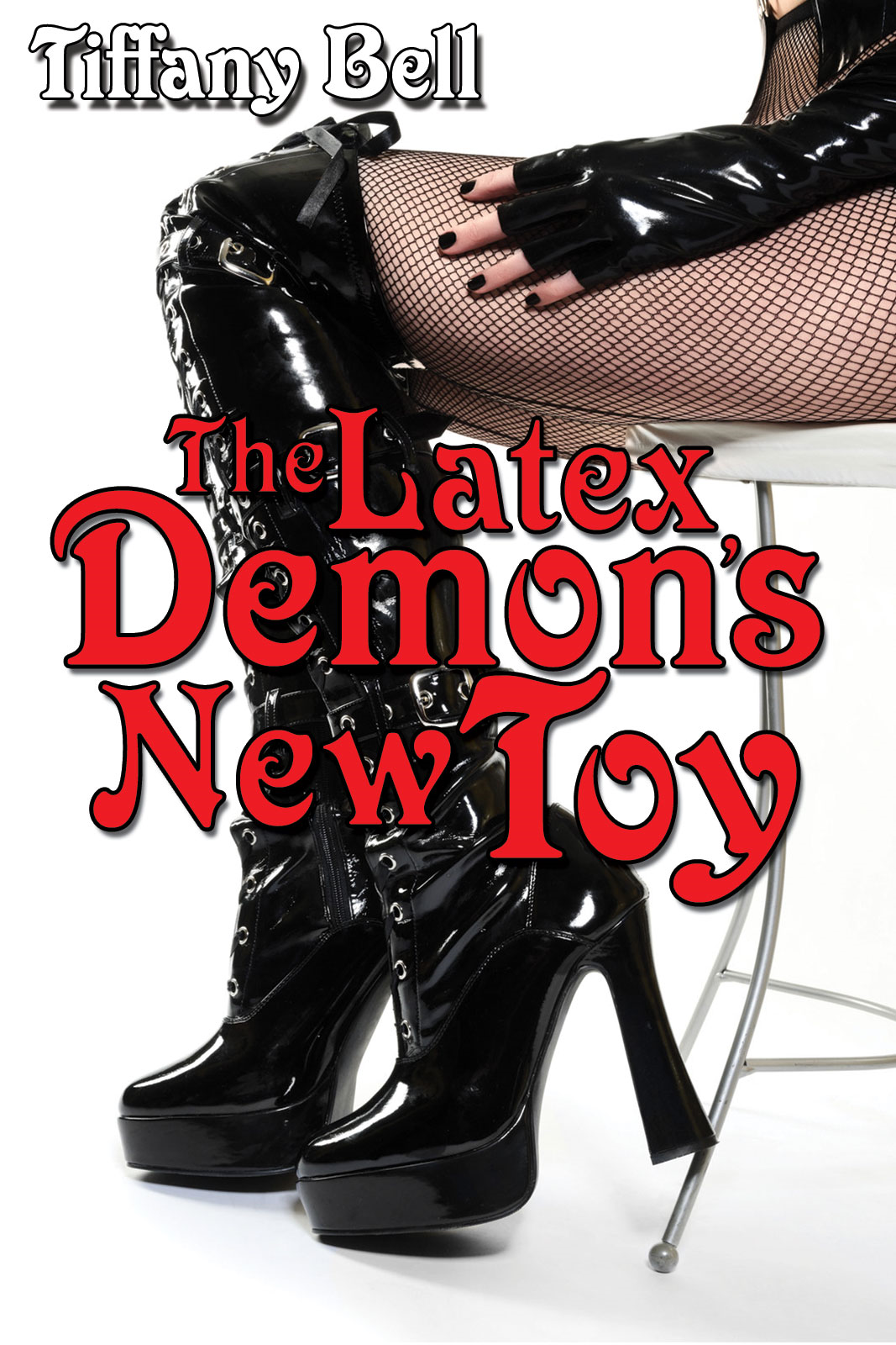 The Latex Demon's New Toy (Paranormal Futanari Corruption Erotica)