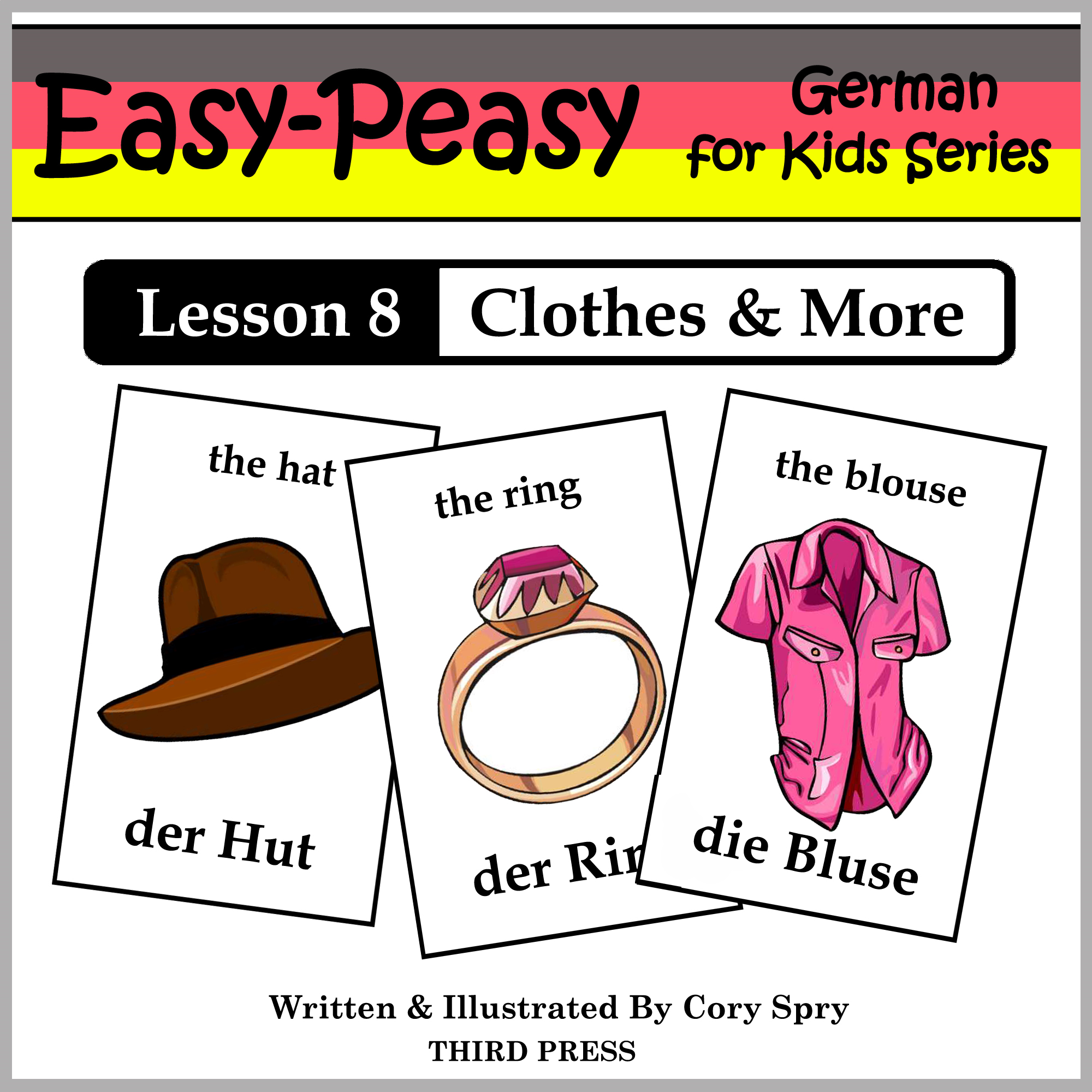 German Lesson 8: Clothes, Shoes, Jewelry & Accessories