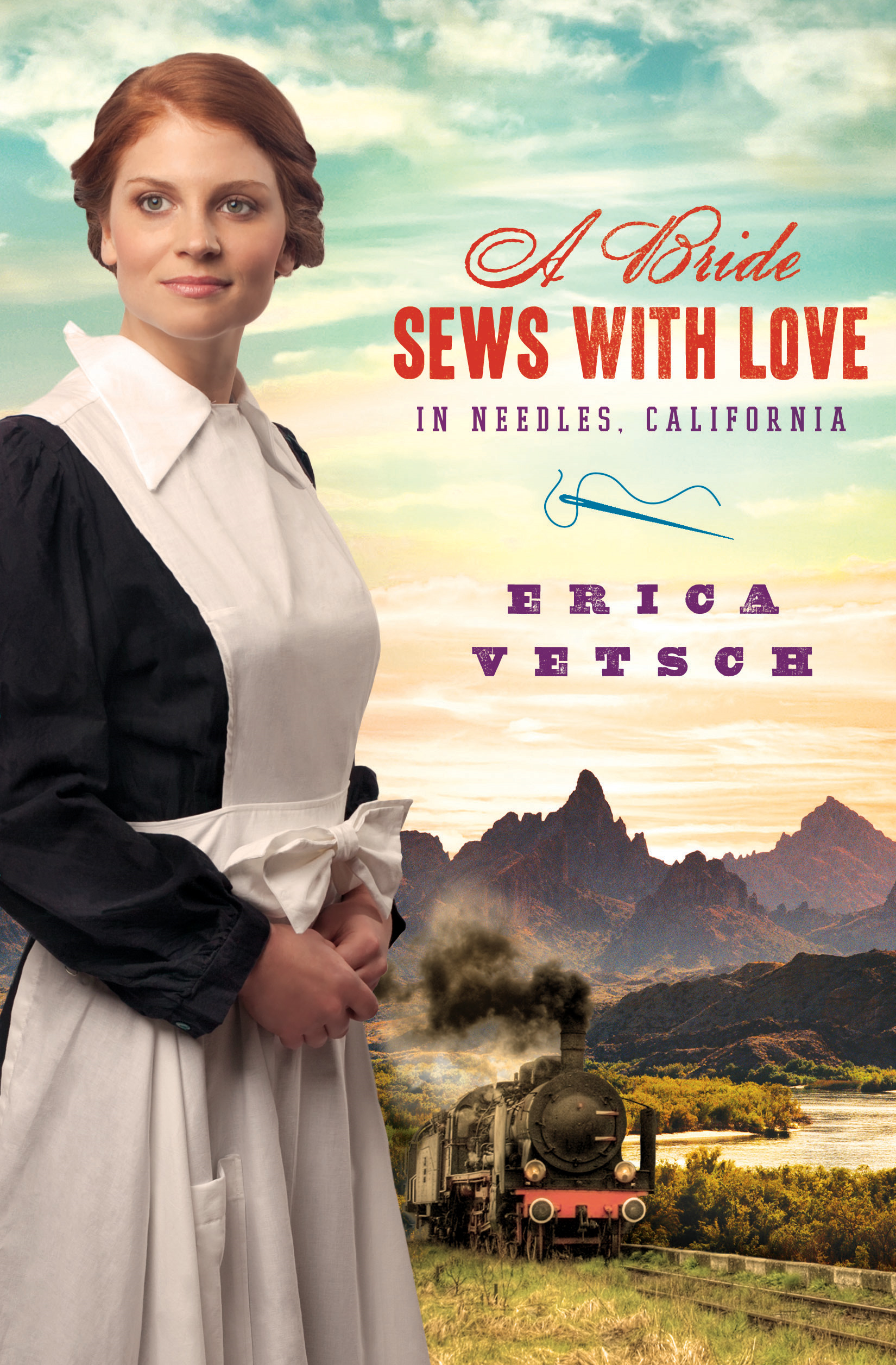 A Bride Sews with Love in Needles, California By: Erica Vetsch