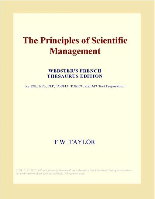 fredrick winslow taylor essay Frederick winslow taylor: common topics in this essay: family culture fredrick taylor and theory of management frederick taylor coping process of.