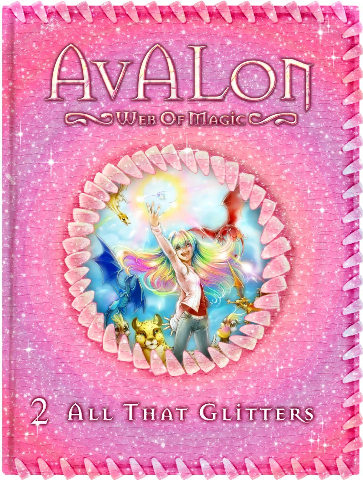 All That Glitters (Avalon: Web of Magic #2)