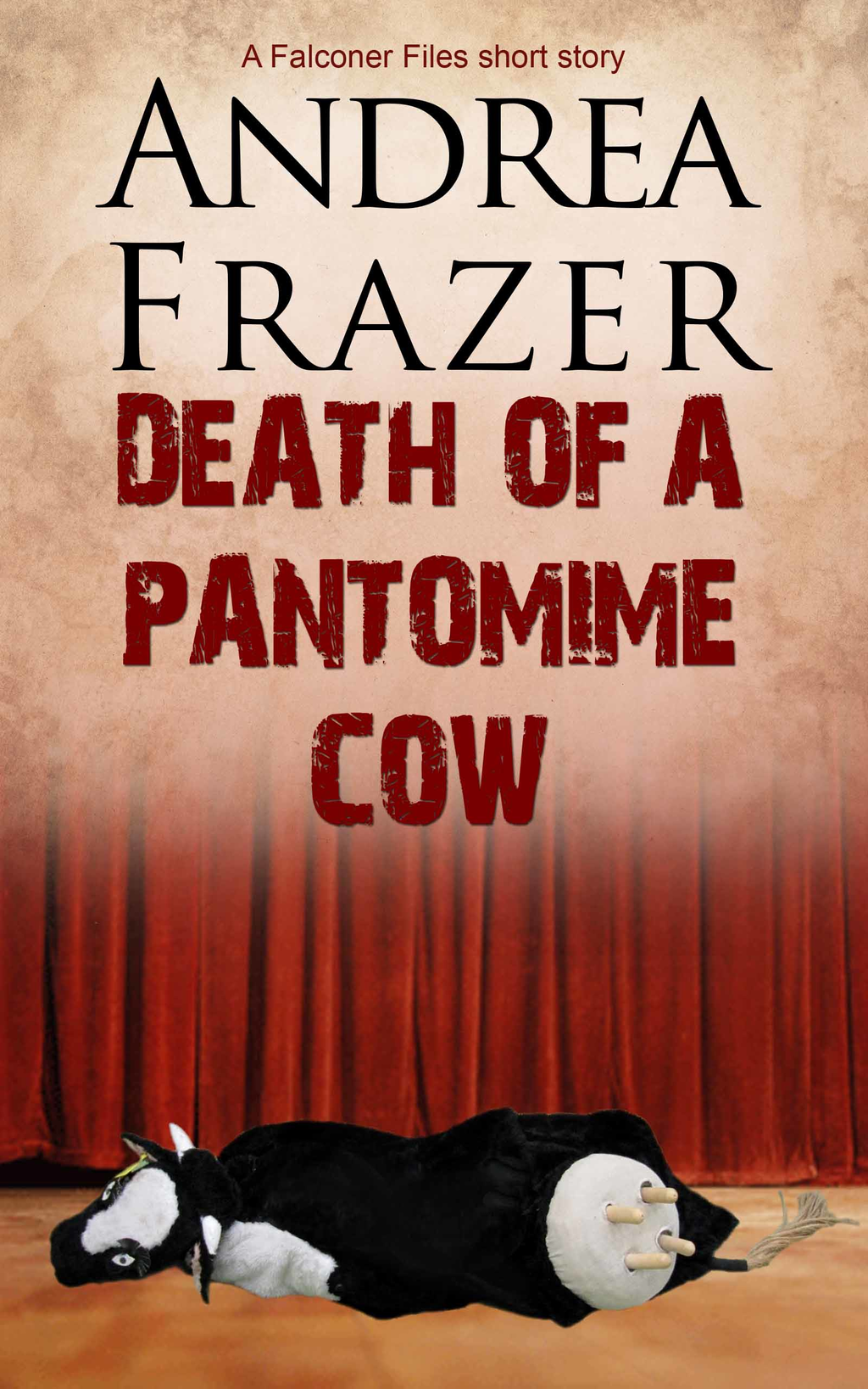 Death of a Pantomime Cow Brief Case