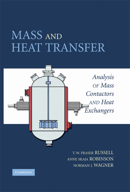 Mass and Heat Transfer Analysis of Mass Contactors and Heat Exchangers