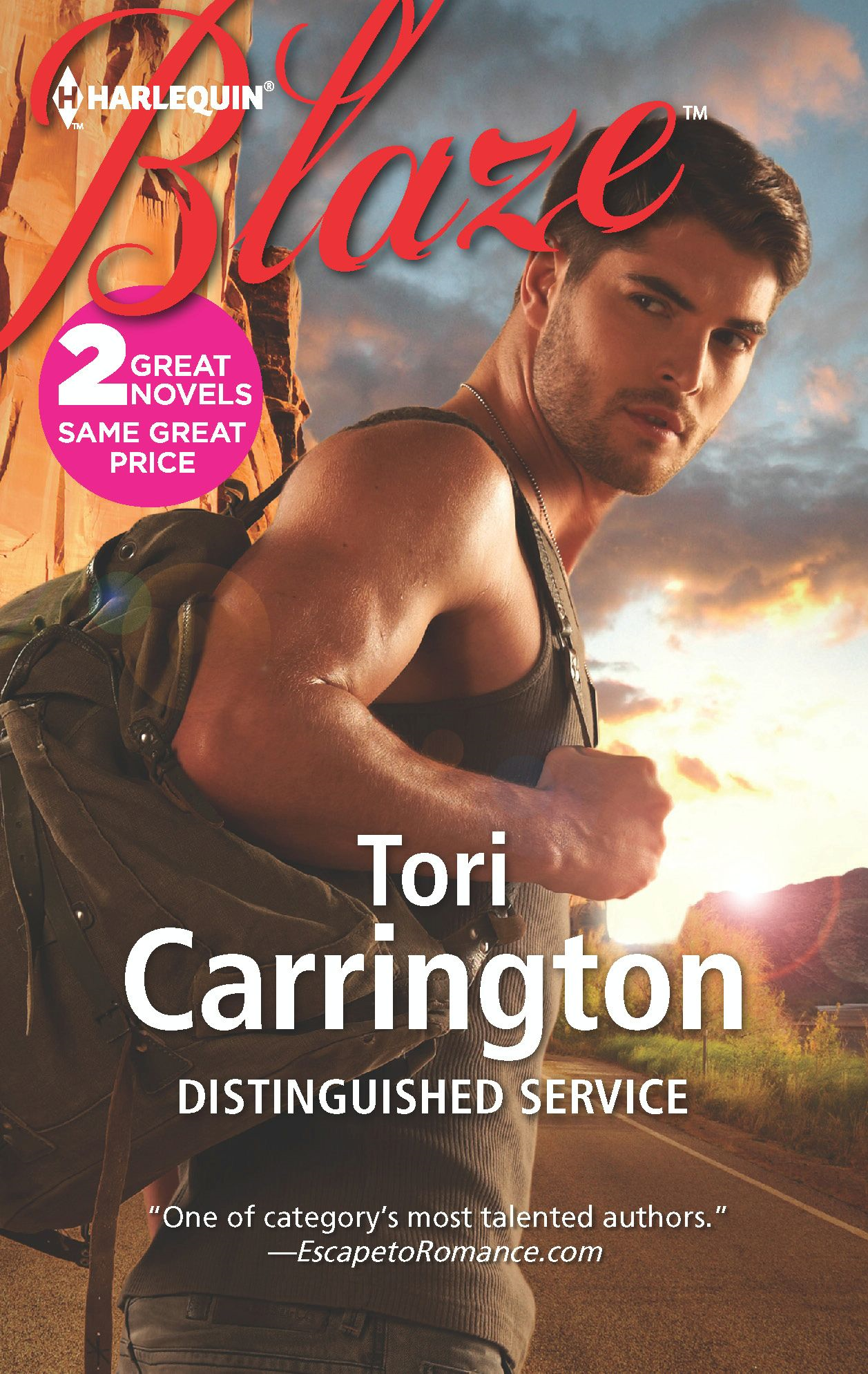 Distinguished Service: Distinguished Service\Every Move You Make By: Tori Carrington