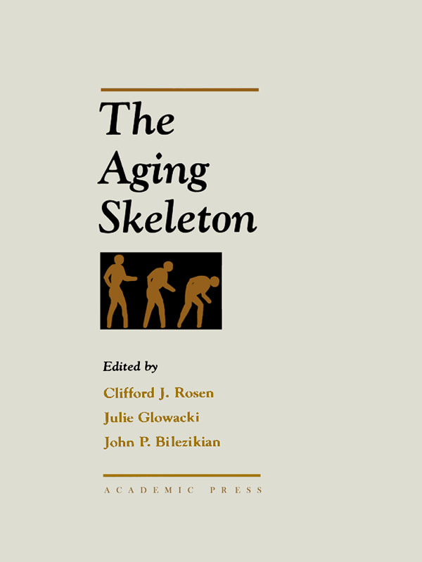 The Aging Skeleton