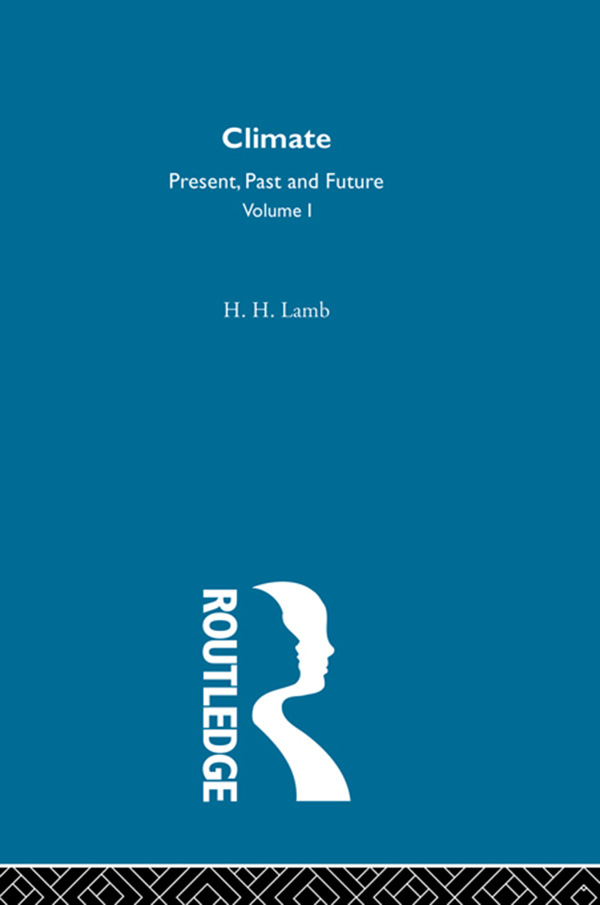 Climate Past,  Present and Future