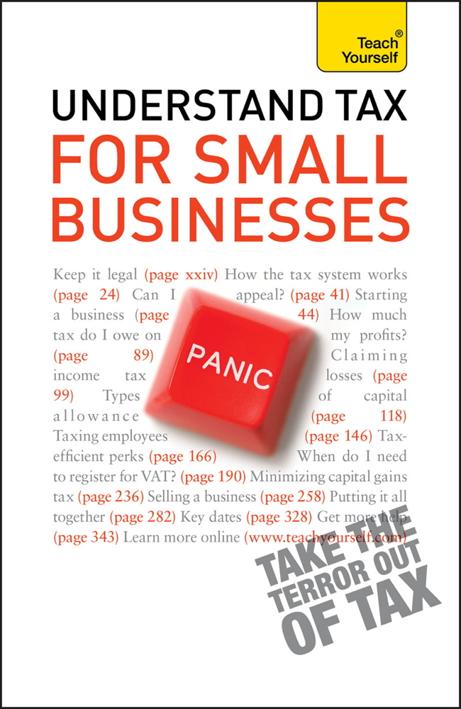 Understand Tax for Small Businesses: Teach Yourself