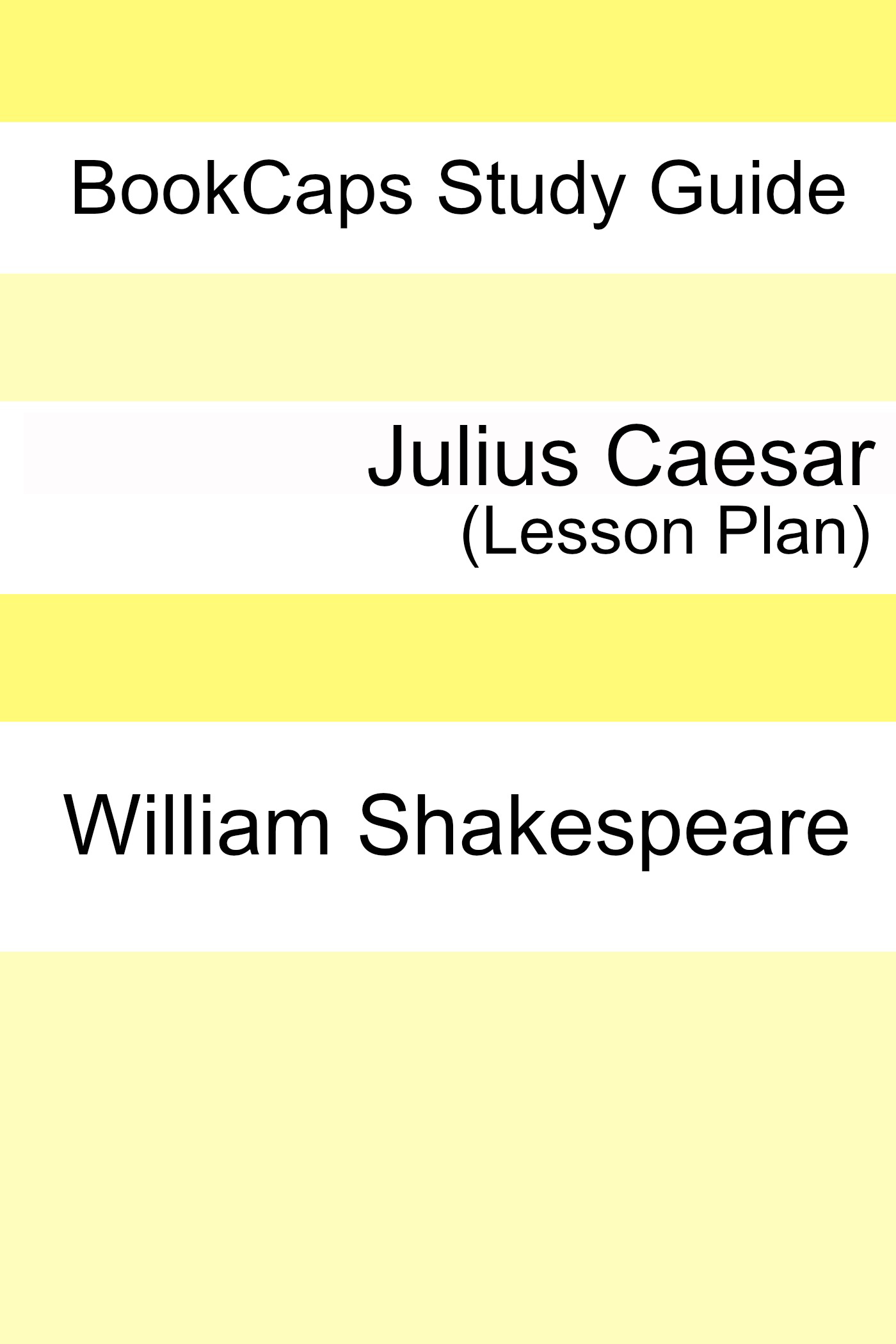 Julius Caesar Teacher Lesson Plans