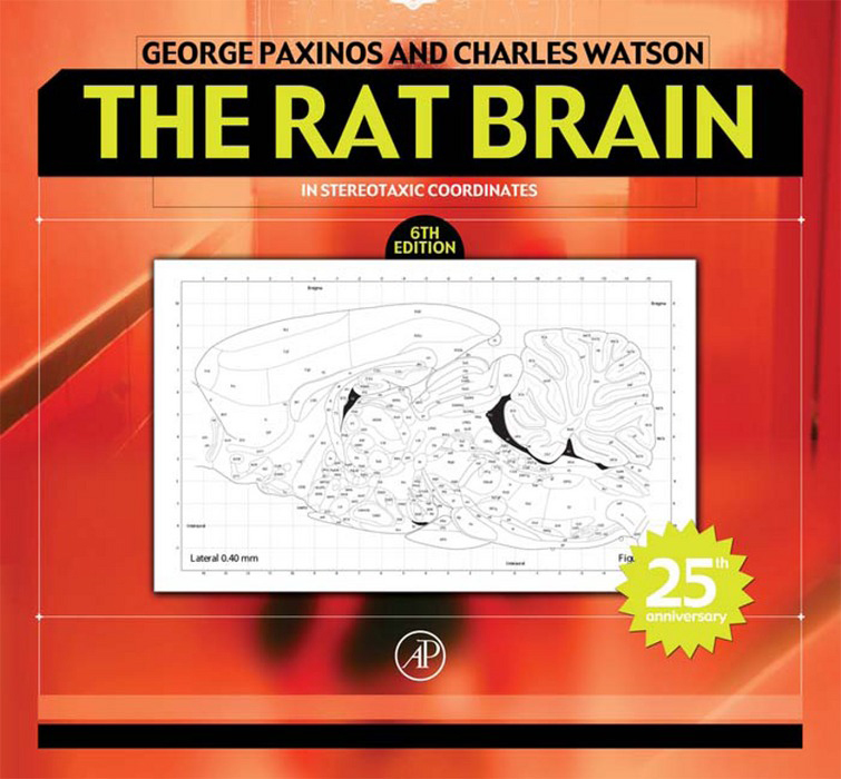 The Rat Brain in Stereotaxic Coordinates By: Charles Watson,George Paxinos