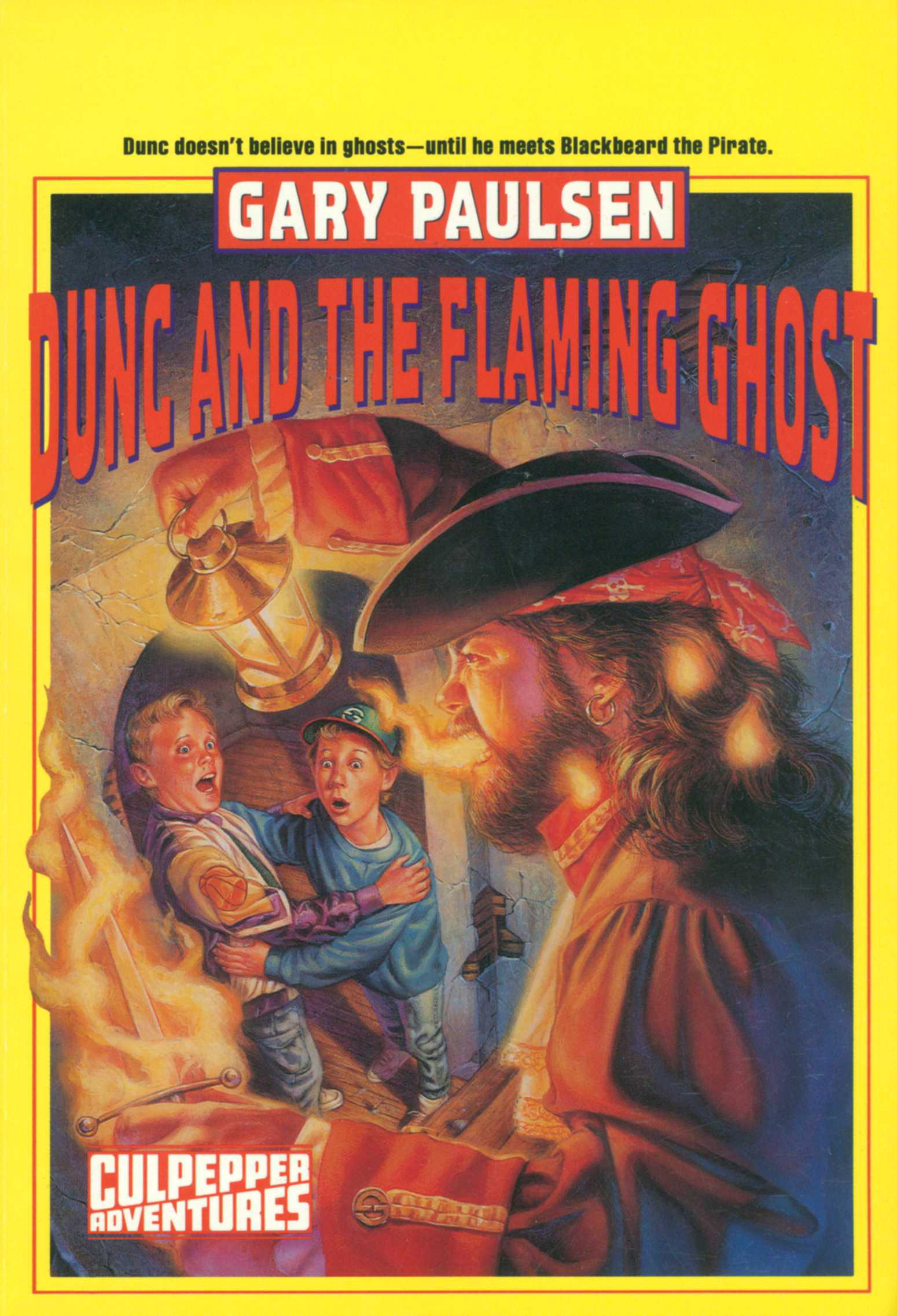 DUNC AND THE FLAMING GHOST
