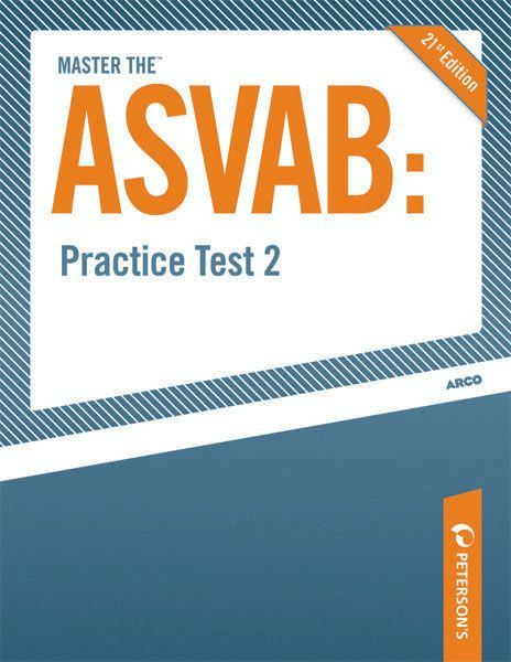 Master the ASVAB--Practice Test 2
