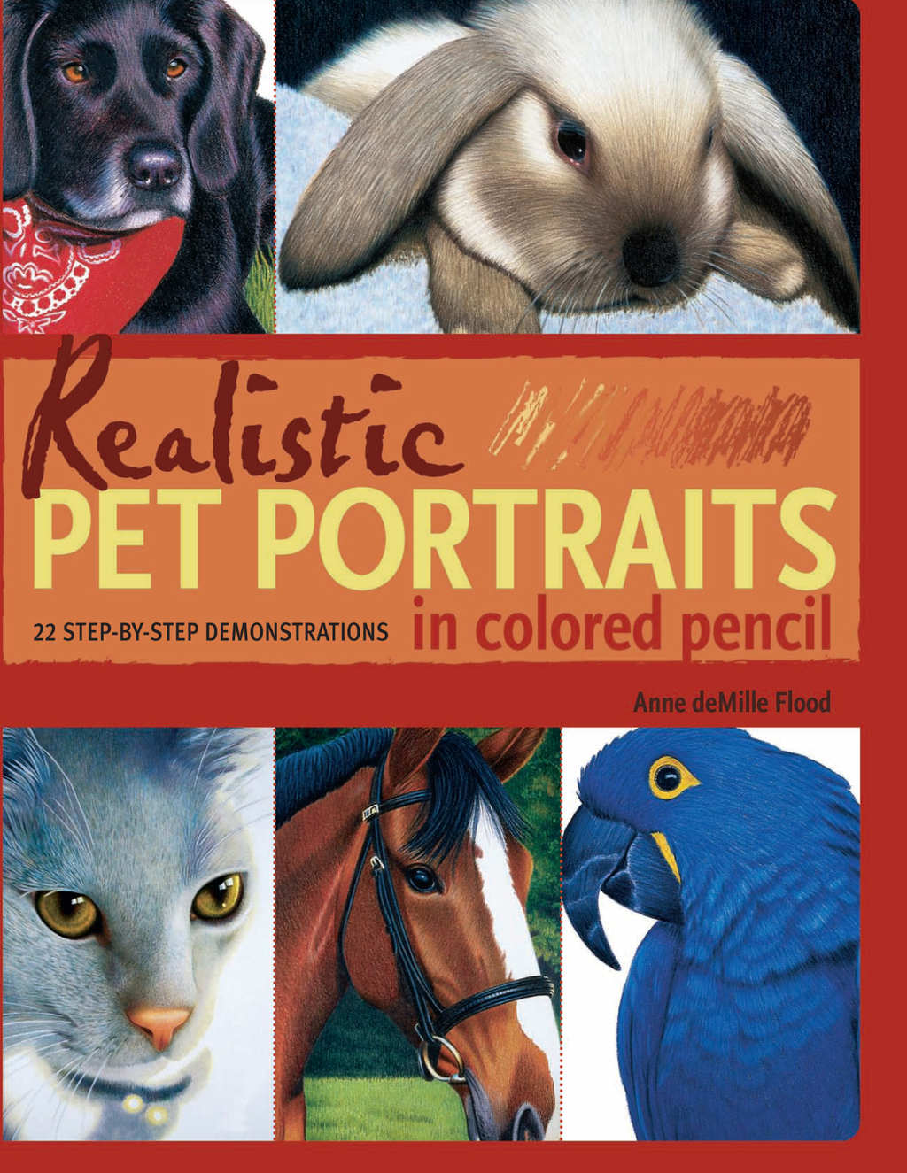 Realistic Pet Portraits in Colored