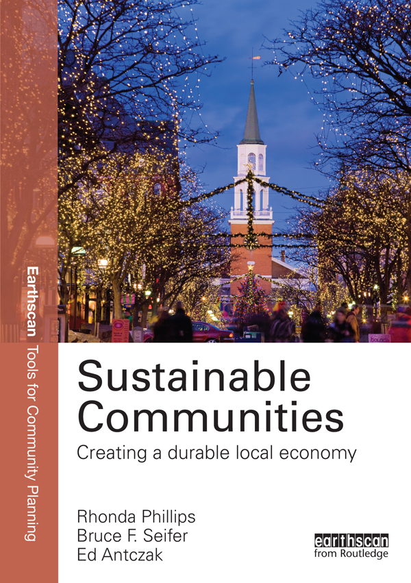 Sustainable Communities Creating a Durable Local Economy