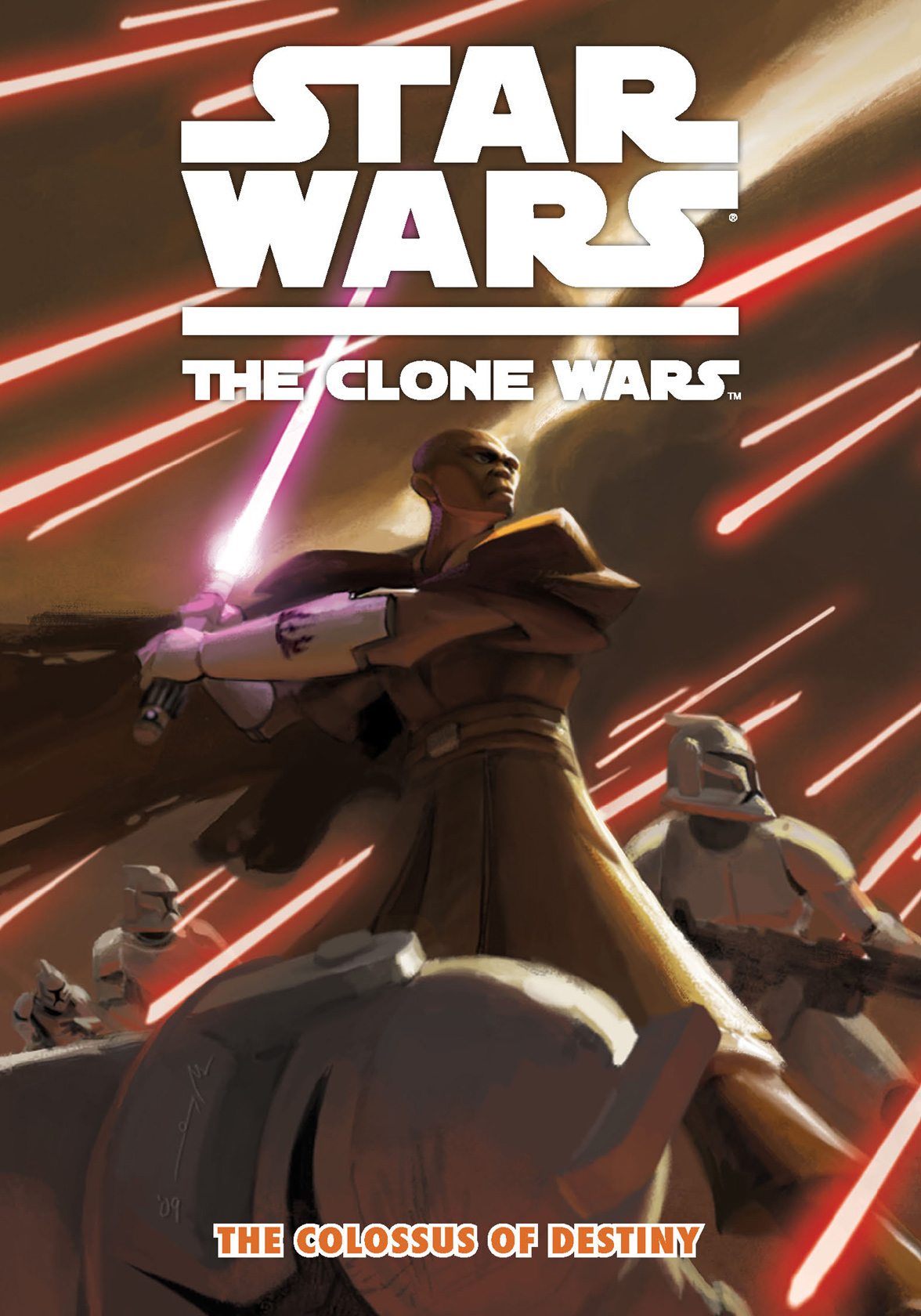 Star Wars: The Clone Wars -- The Colossus of Destiny By: Jeremy Barlow,Matt and Shawn Fillbach