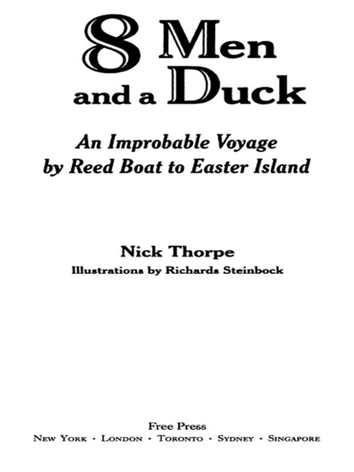 8 Men and a Duck By: Nick Thorpe