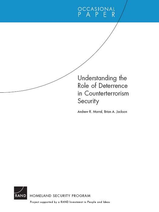 Understanding the Role of Deterrence in Counterterrorism Security