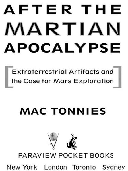 After the Martian Apocalypse By: Mac Tonnies