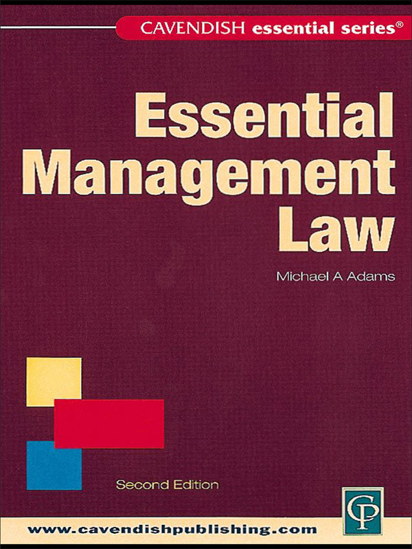 Australian Essential Management Law