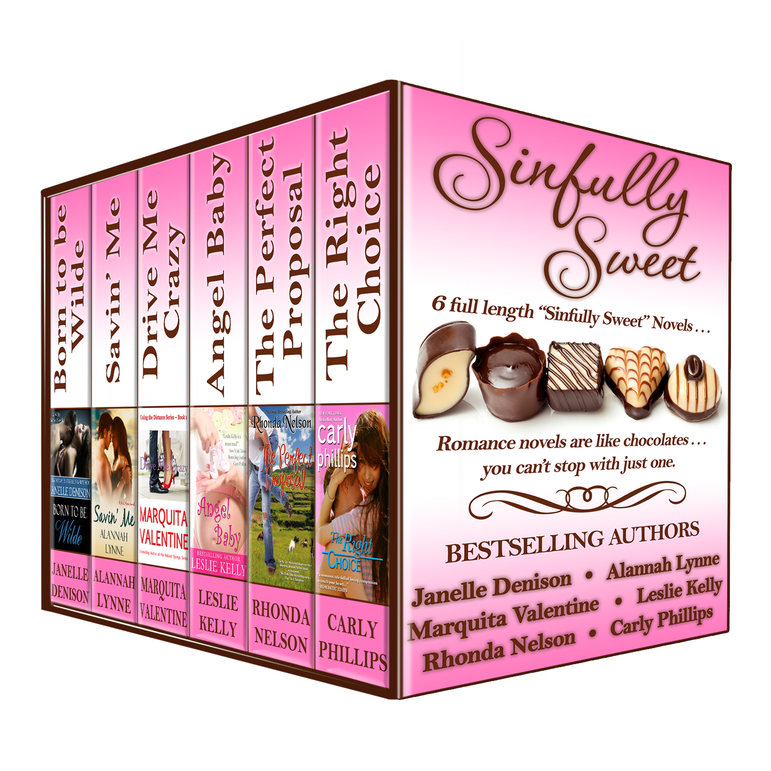 SINFULLY SWEET (Boxed Set of 6 FULL LENGTH Novels)