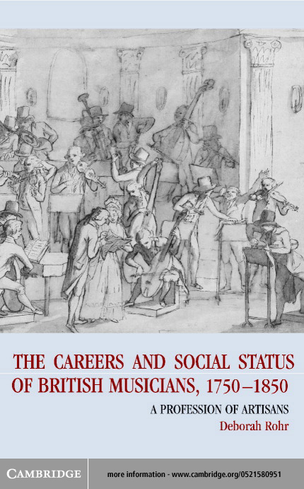 The Careers of British Musicians, 1750-1850