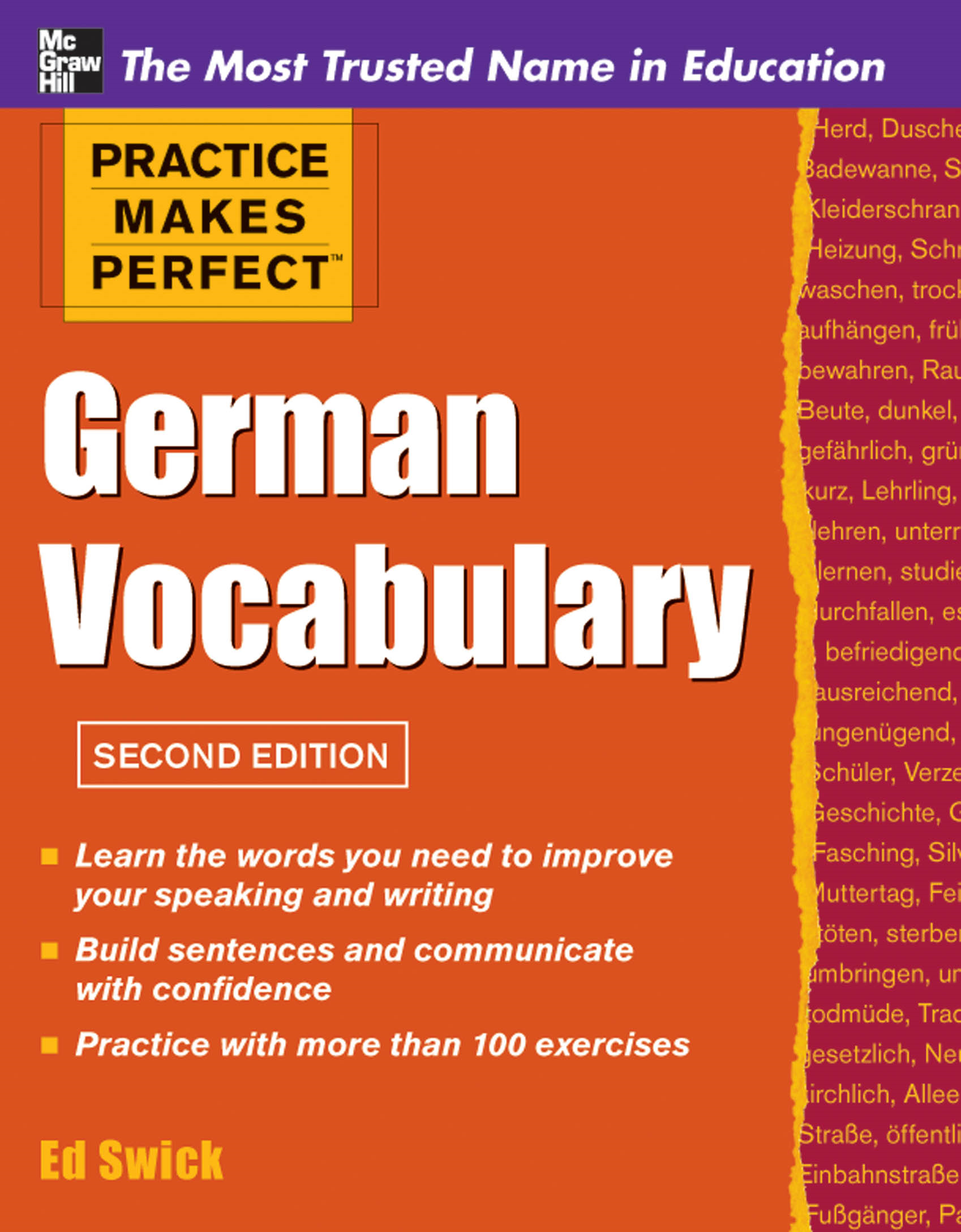 Practice Makes Perfect German Vocabulary