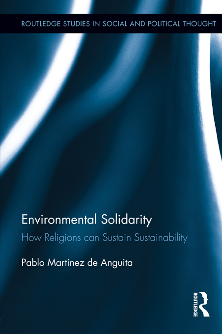 Environmental Solidarity How Religions Can Sustain Sustainability