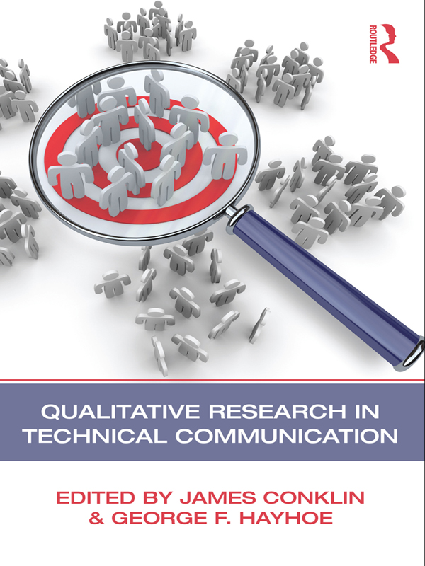 Qualitative Research in Technical Communication