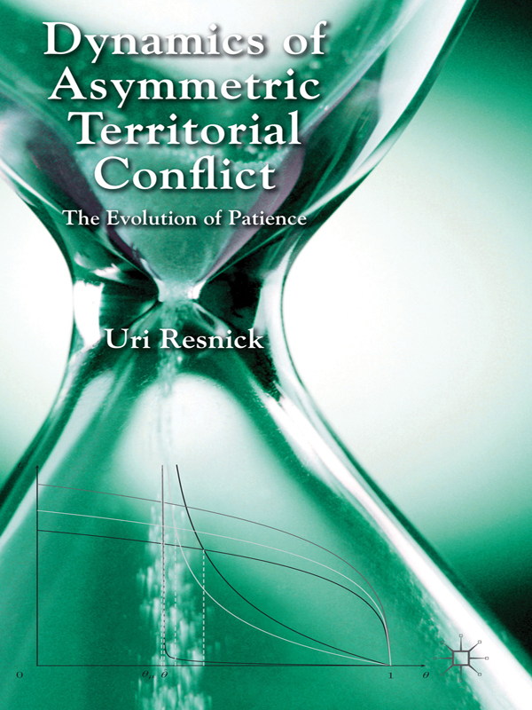 Dynamics of Asymmetric Territorial Conflict The Evolution of Patience