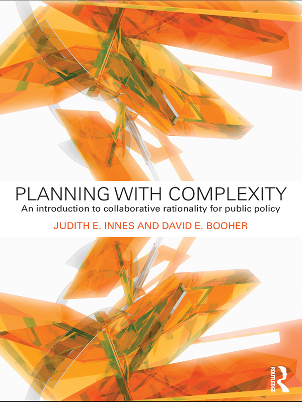 Planning with Complexity An Introduction to Collaborative Rationality for Public Policy