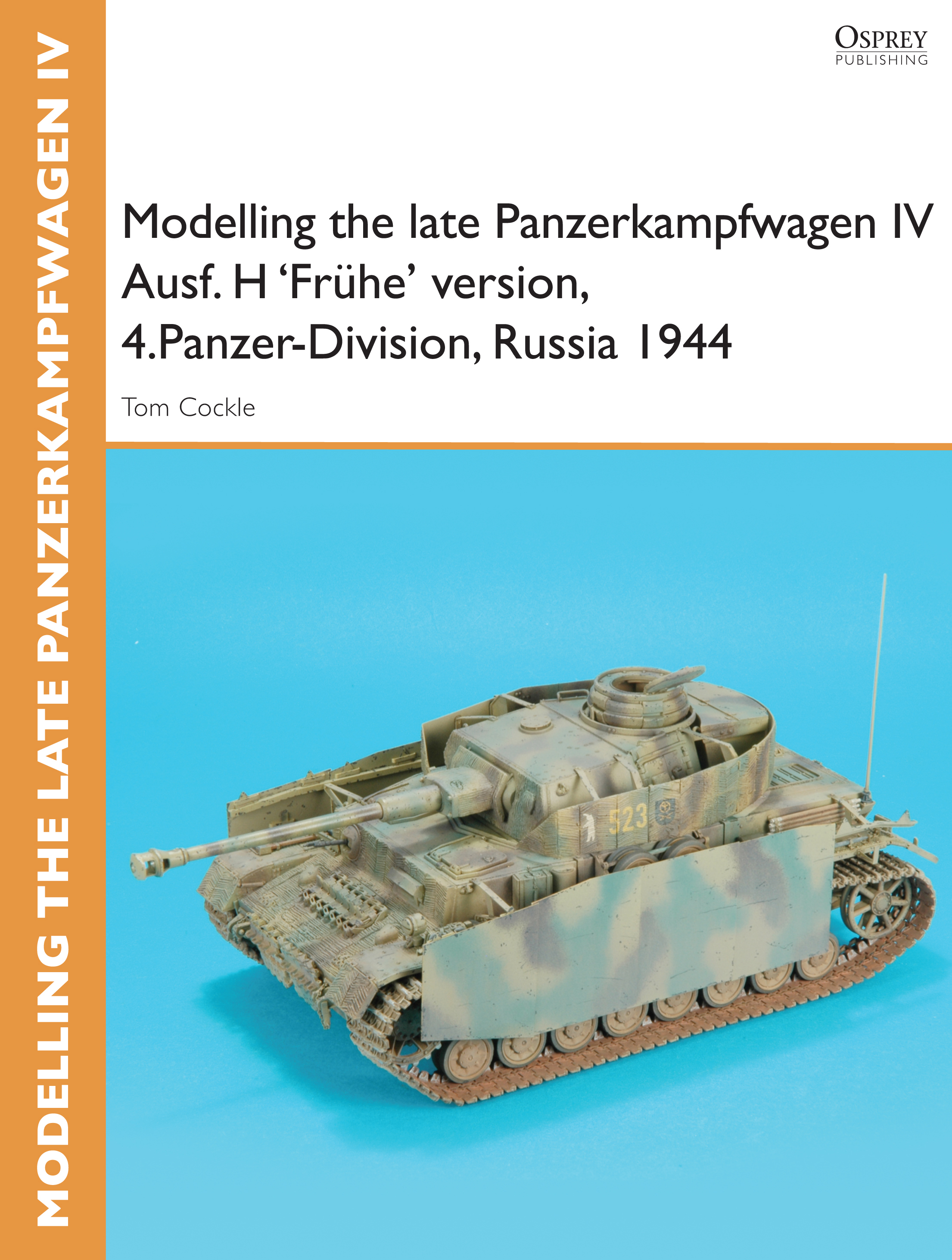 Modelling the late Panzerkampfwagen IV Ausf. H 'Fr�he' version,  4.Panzer-Division,  Russia 1944